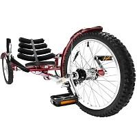 Mobo Shift Liegebike Kinder Dreirad Trike Cruiser Liegedreirad Liegefahrrad rot