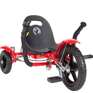 Mobo Tot Liegebike Kinder Dreirad Trike Liegedreirad Liegefahrrad rot