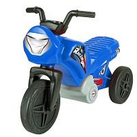 Kinder Enduro Motorrad Laufrad Rutscher Dreirad bis 2 Jahre blau