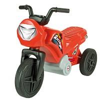 Kinder Enduro Motorrad Laufrad Rutscher Dreirad bis 2 Jahre rot
