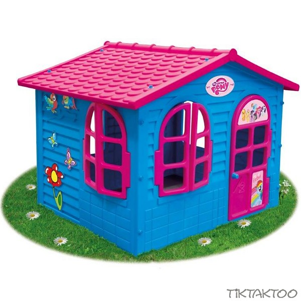 xxl spielhaus my little pony gartenhaus kinderspielhaus tiktaktoo. Black Bedroom Furniture Sets. Home Design Ideas
