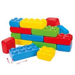 GIGA Blocks Blocks Spielbausteine Jumbo Sortiment XXL Riesen Bausteine Bauklötze B