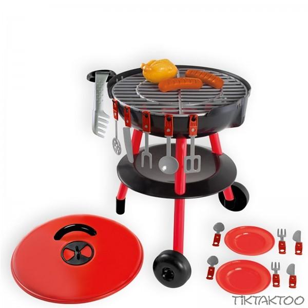 barbecue gartengrill grill f r kinder kindergrill spielzeug grill mit zubeh r tiktaktoo. Black Bedroom Furniture Sets. Home Design Ideas