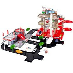 MEGA Parkhaus mit Waschstrasse, Parkgarage
