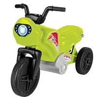 Kinder Enduro Motorrad Laufrad Rutscher Dreirad bis 2 Jahre apfelgrün