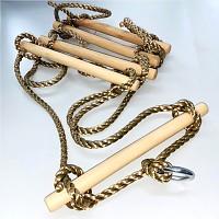 Strickleiter Kletterleiter Leiter 5 Sprossen Seilleiter