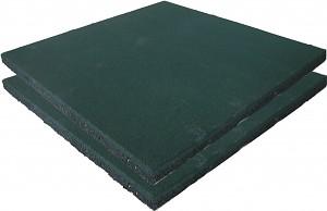 2er Set Fallschutzmatten Gummimatten grün