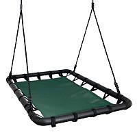 Nestschaukel 120x80cm - grün/schwarz