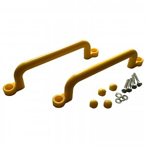 Kunststoffgriffe Handgriffe 2er Set - XXL 320mm - gelb