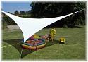 Sonnensegel Dreieck 4.5x4.5x4.5m in verschiedenen Farben