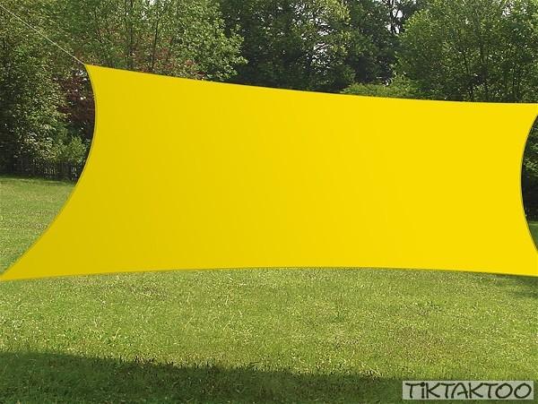sonnensegel rechteck 4x3m in verschiedenen farben tiktaktoo. Black Bedroom Furniture Sets. Home Design Ideas