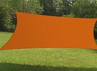 Sonnensegel Rechteck 6x4m in verschiedenen Farben