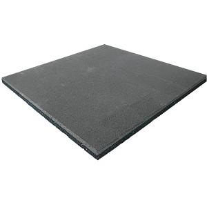 Fallschutzmatte Gummimatte grau 25 mm