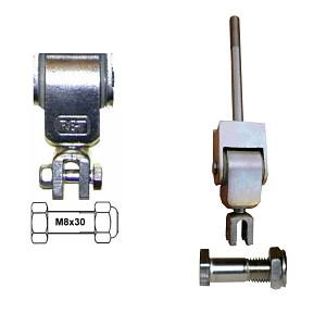 Montage Set M8x30mm für alle Schaukelgelenke Schraubverbindung