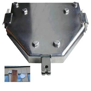 Seilbahnwagen mit Bremse und Fingerschutz Seilbahn Zubehör
