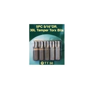 Torx 50 BITS, 5 Stck. für Hülsenschrauben