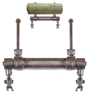 Schaukelachse Kettenabstand: 300 bis 500mm Schaukelgelenk