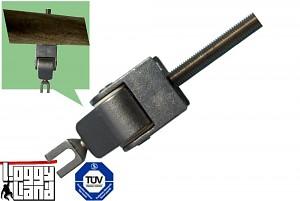 Schaukelgelenk M12x140mm Edelstahl