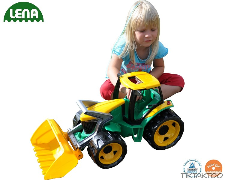 Traktor mit frontlader baggerarm fahrzeug bagger