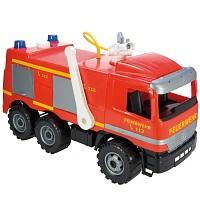 Feuerwehr-Auto mit Wasserspritze Rutscherfahrzeug Auto Starke Riesen Lena 65cm