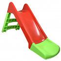 Rutsche 120 cm rot/grün