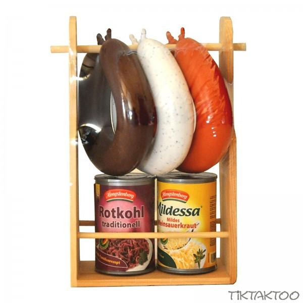 tanner wurstst nder aus holz zubeh r kaufmannsladen tiktaktoo. Black Bedroom Furniture Sets. Home Design Ideas