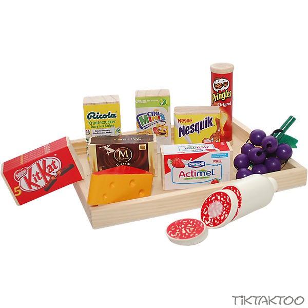 Kaufladen Zubehör Tanner Lebensmittelsortiment für Kinde..