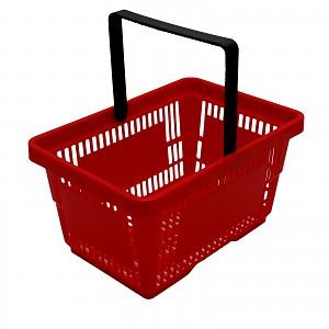 Tanner - Supermarktkorb mit Bügel, leer