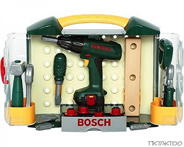 bosch werkzeugkoffer theo klein 8518 akkuschrauber s ge hammer schraubschl ssel ebay. Black Bedroom Furniture Sets. Home Design Ideas
