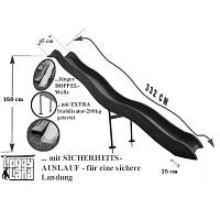 Anbaurutsche 332 cm