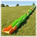 Hangrutsche 8,60 m apfelgrün - orange