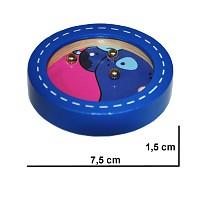 Delphin Kugelspiel Geduldsspiel Minikugelspiel Geschicklichkeitsspiel