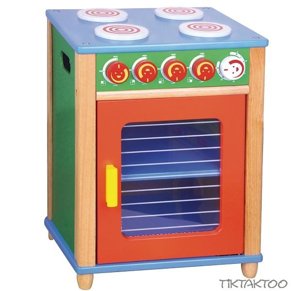 Kinderspielkuche herd holz spielkuche backofen kuche for Kinderspielküche holz