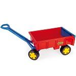 Wader Handwagen rot gelb blau