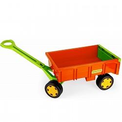 Wader - Handwagen orange/grün/gelb