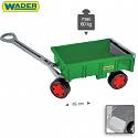 Handwagen Grün Wader Anhänger für Gigant Truck Traktor Hänger Kinder Spielzeug