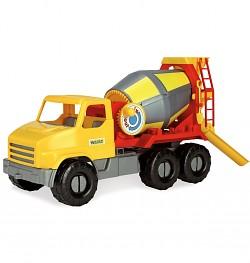 Wader 46cm Spielzeug Baustellen Auto LKW Betonmischer Spielzeugauto Mischer-Auto