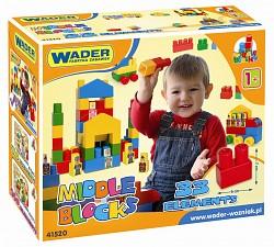 Wader - Middle Blocks Super Big 33 Bausteine