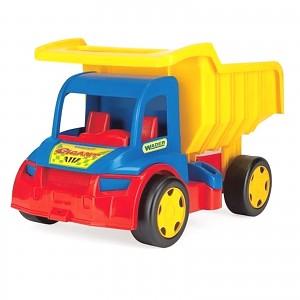 Wader Riesen Gigant Truck XXL LKW Kipper Dumper Laster Spielzeugauto bis 150kg
