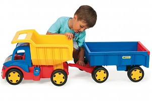 Wader Giant Truck Kipper Dumper