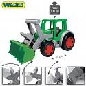 XXL Gigant Traktor 60cm Trekker mit Frontlader Baggerarm Sitzbagger 100kg Wader