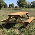 Picknickbank 175x154x74cm