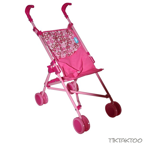 buggy fuer puppen puppenwagen neu rosa pink kinderwagen. Black Bedroom Furniture Sets. Home Design Ideas