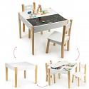 Kindersitzgruppe Multifunktionstisch mit 2 Stühlen