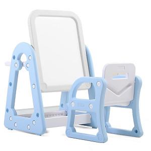 Kombi-Set - Tisch/Tafel und Stuhl - Blau