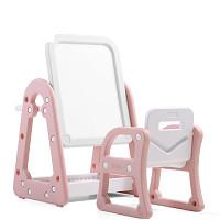 Kombi-Set - Tisch/Tafel und Stuhl - Pink