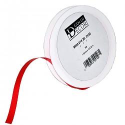 Kräuselband glatt rot 15mm breit Geschenkband Dekoband Dekoration