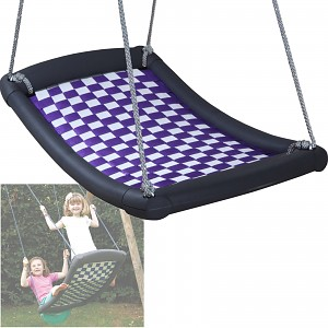 Mehrkindschaukel Standard M weiß/violett Schaukel Familienschaukel Schiffsschaukel