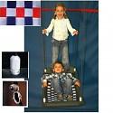 Mehrkindschaukel-Education M silber/rot/blau Schiffsschaukel Familienschaukel