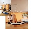 Relaxschaukel Familienschaukel Lifestyle Plus EL camel/bicolor